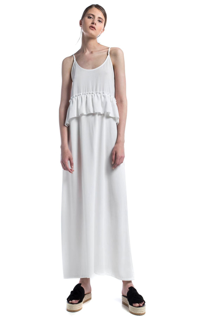 Picture of MAXI DRESS WITH FRILLS