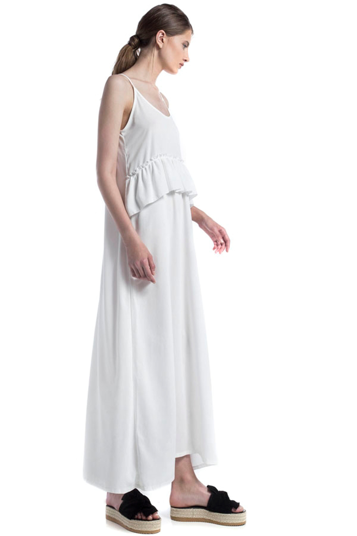 Picture of MAXI DRESS WITH FRILLS (2)