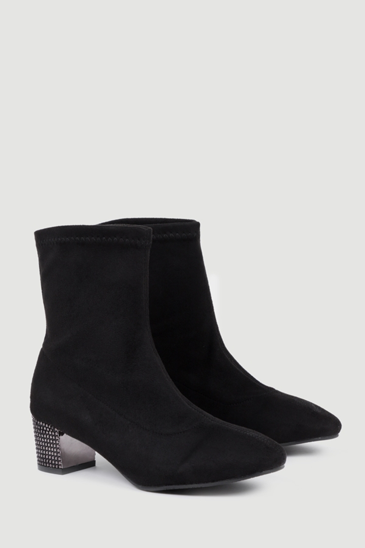 Picture of SUEDE ANKLE BOOTS WITH STUDS