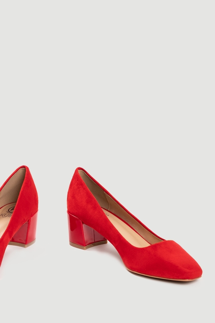 Picture of SUEDE LOW HEEL SHOES