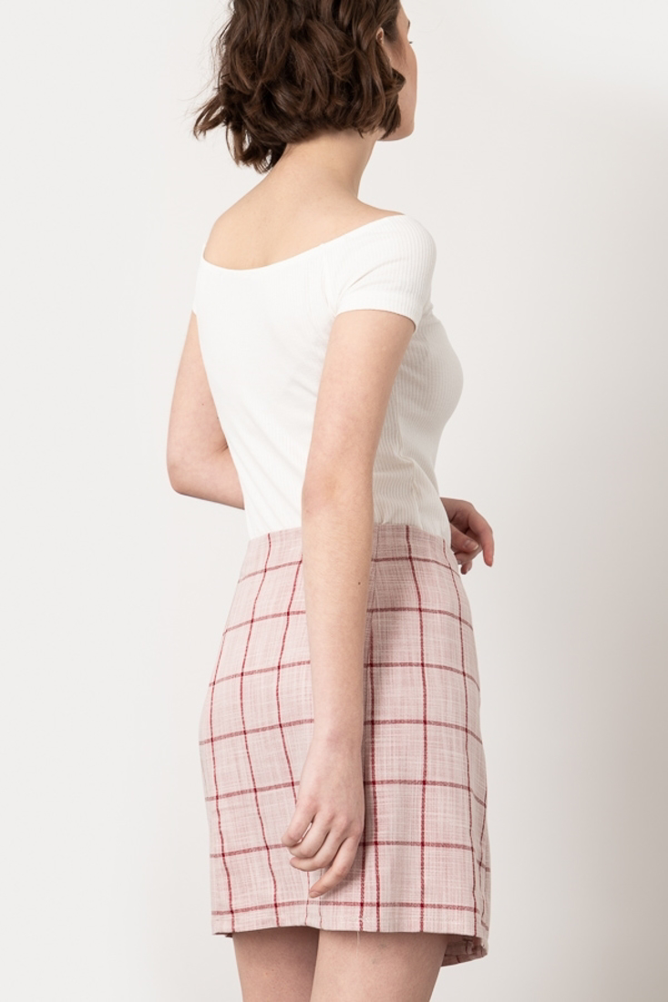 Picture of PLAID SKIRT
