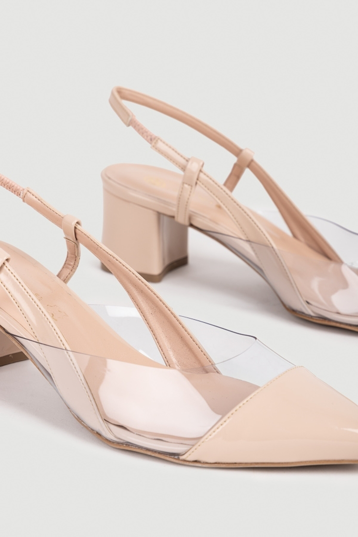 Picture of SLINGBACK SHINY PUMPS