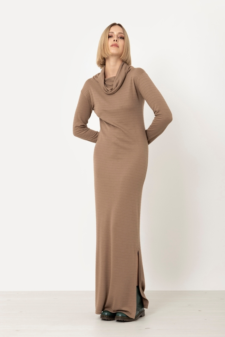 Picture of LONG TURTLENECK DRESS (2)