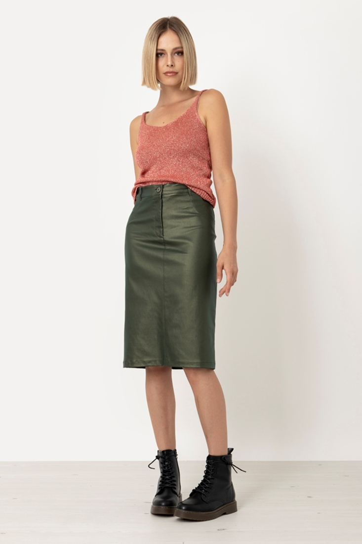 Picture of MIDI SKIRT  (2)