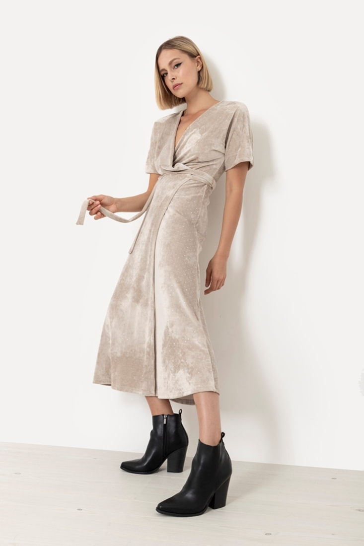 Picture of MIDI WRAPPED DRESS (2)