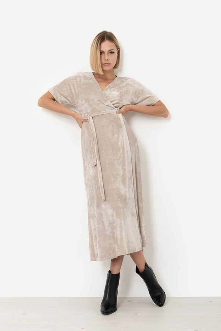 Picture of MIDI WRAPPED DRESS