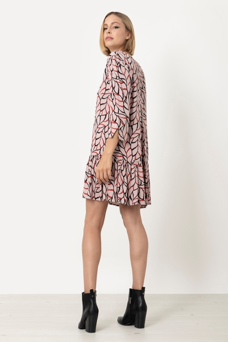 Picture of SHORT PRINTED DRESS