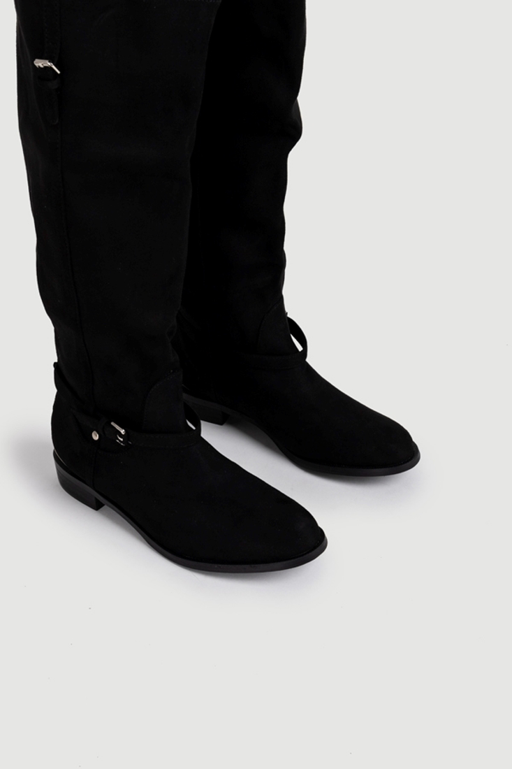 Picture of SUEDE FLAT BOOTS (2)