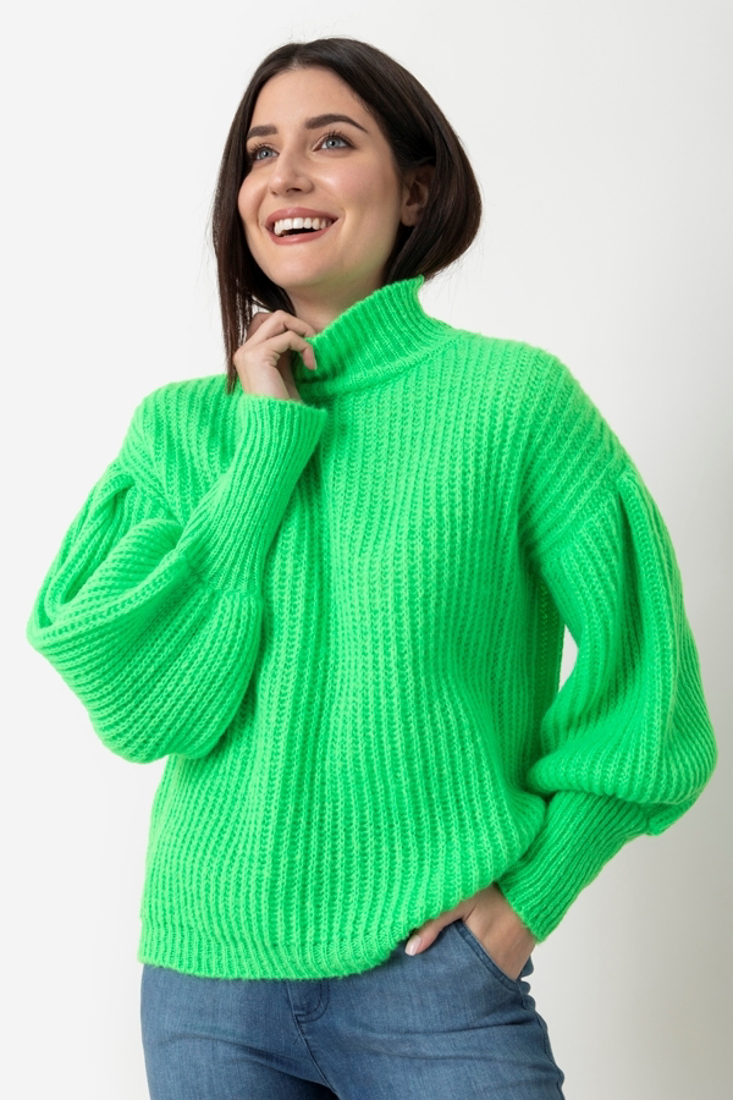 Picture of TURTLENECK KNITTED BLOUSE