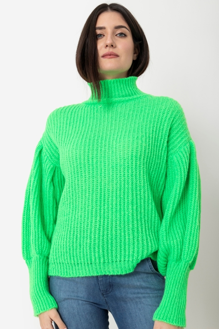 Picture of TURTLENECK KNITTED BLOUSE (2)