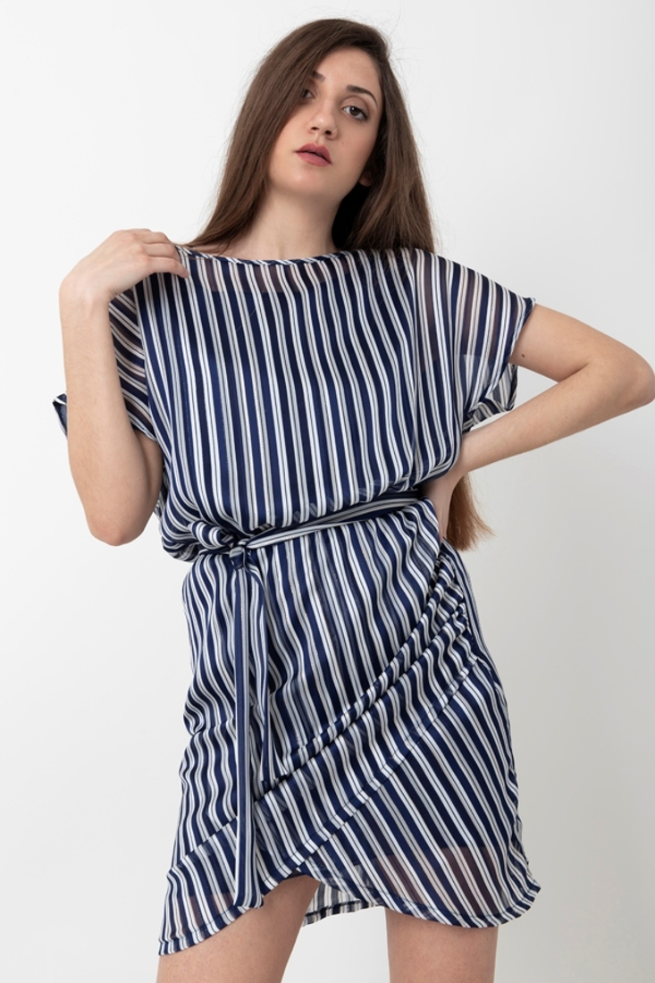 Picture of SHORT STRIPED DRESS
