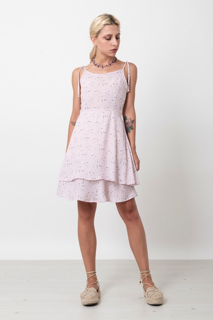 Picture of MINI PRINTED DRESS