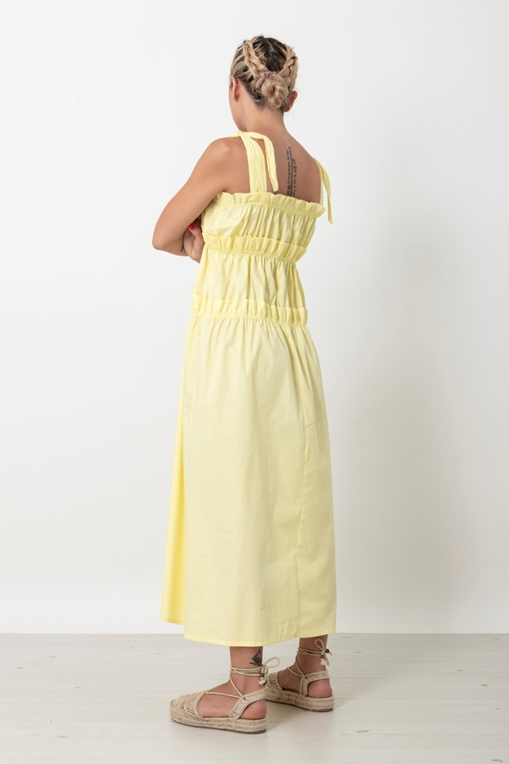 Picture of LONG DRESS WITH FRILLS