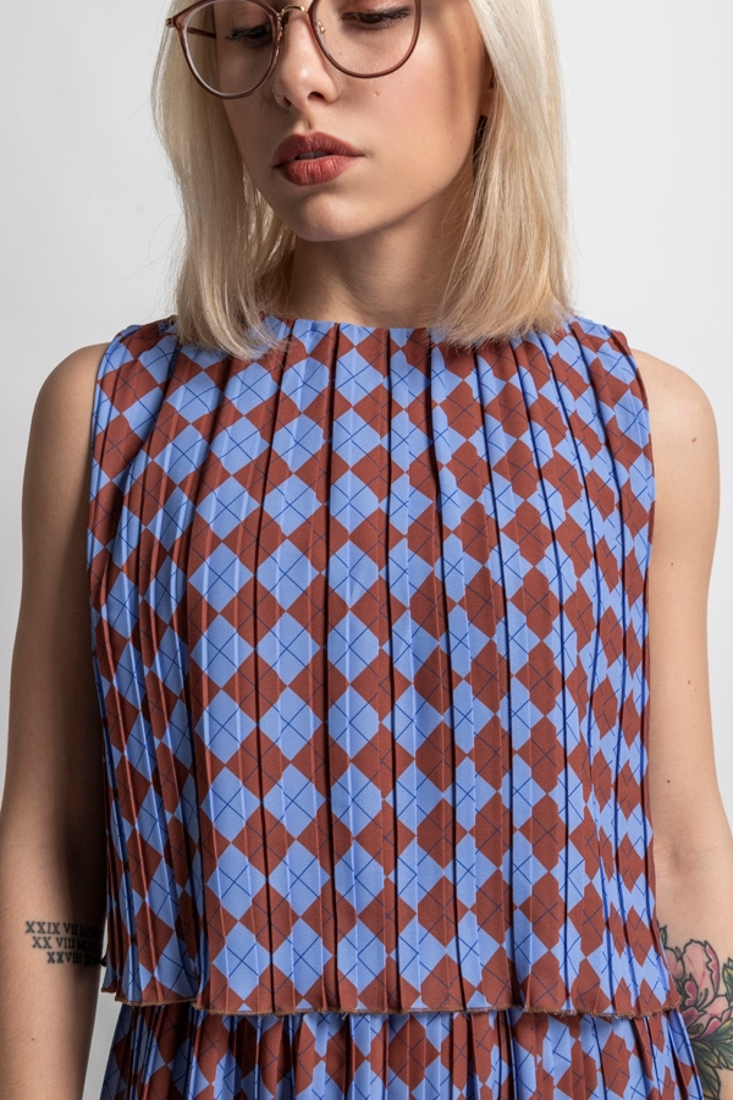 Picture of PLEATED CROP TOP