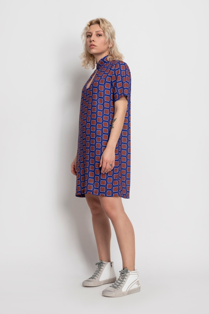 Picture of MINI PRINTED DRESS (2)