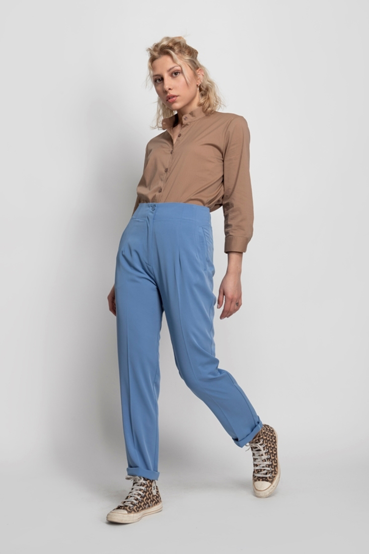 Picture of STRAIGHT-LEG TROUSERS (2)