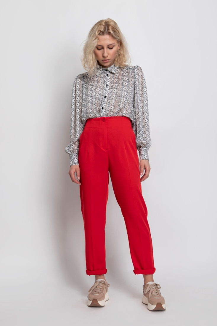 Picture of STRAIGHT-LEG TROUSERS