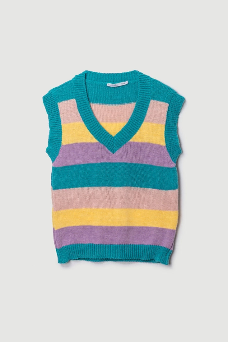Picture of SLEEVELESS STRIPED TOP