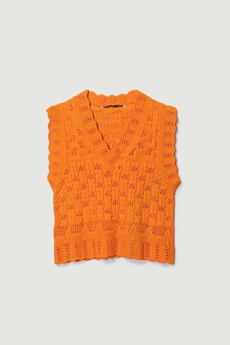 Picture of CROPPED KNIT VEST