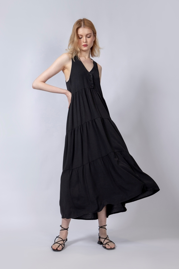 Picture of LONG SLEEVELESS DRESS