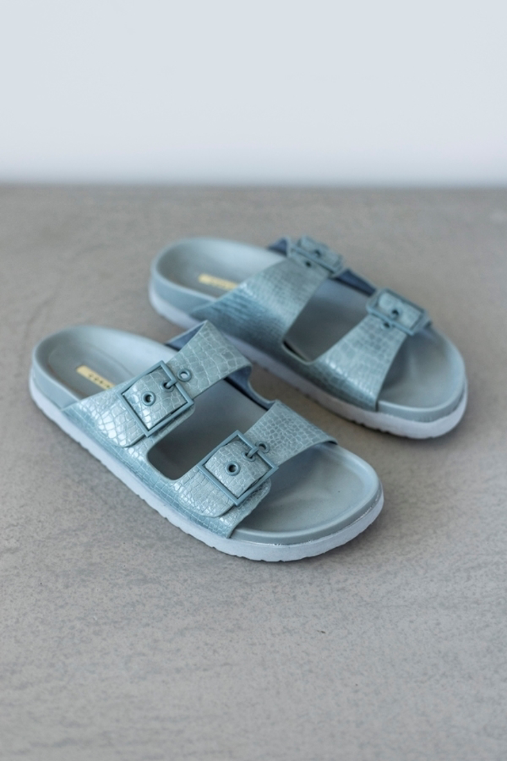 Picture of BUCKLED FLAT SANDALS (2)