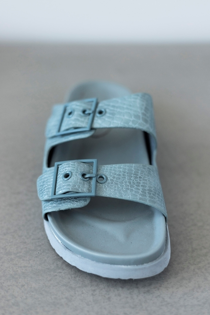 Picture of BUCKLED FLAT SANDALS
