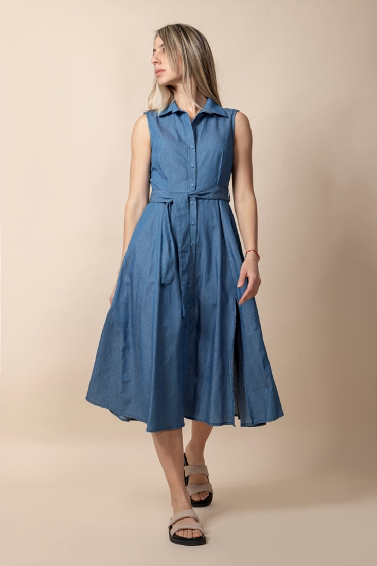 Picture of DENIM SHIRT DRESS (2)