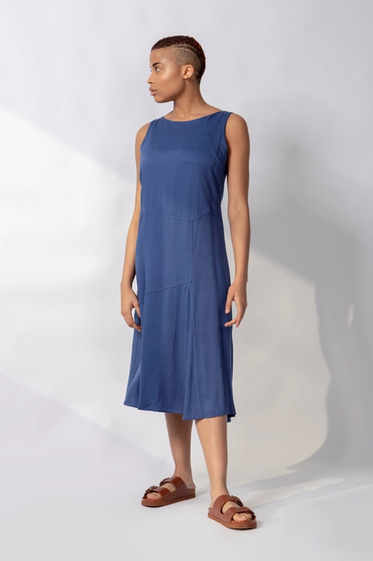 Picture of MIDI SLEEVELESS DRESS