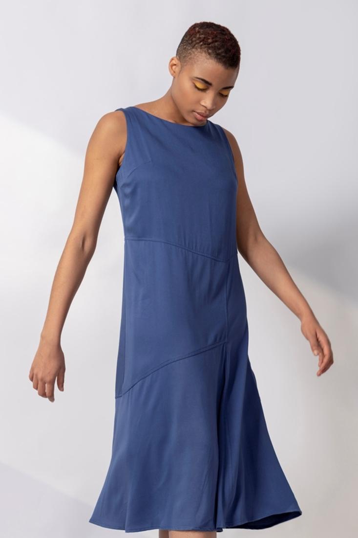 Picture of MIDI SLEEVELESS DRESS (2)