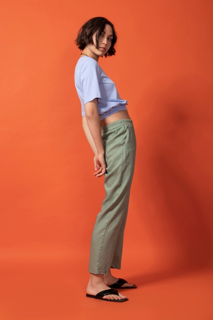 Picture of CARROT FIT TROUSERS