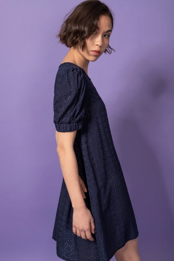 Picture of BRODERIE MINI DRESS