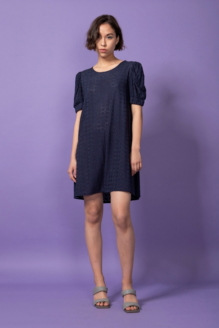Picture of BRODERIE MINI DRESS (2)
