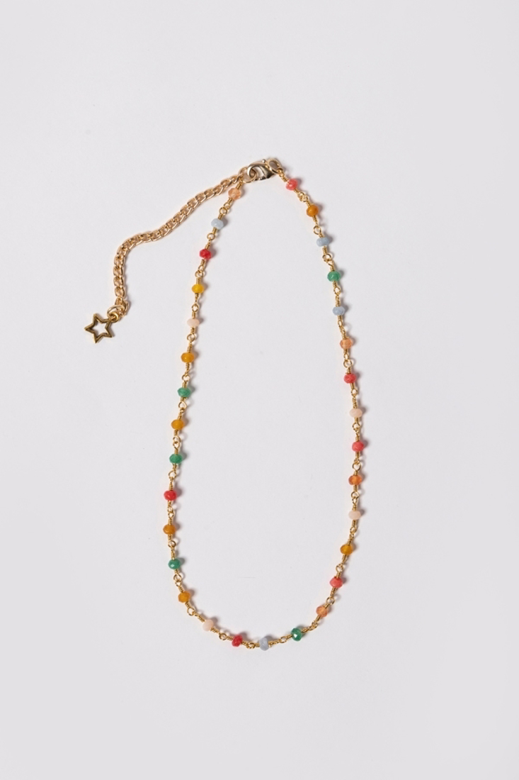 Picture of ROUND STONE NECKLACE