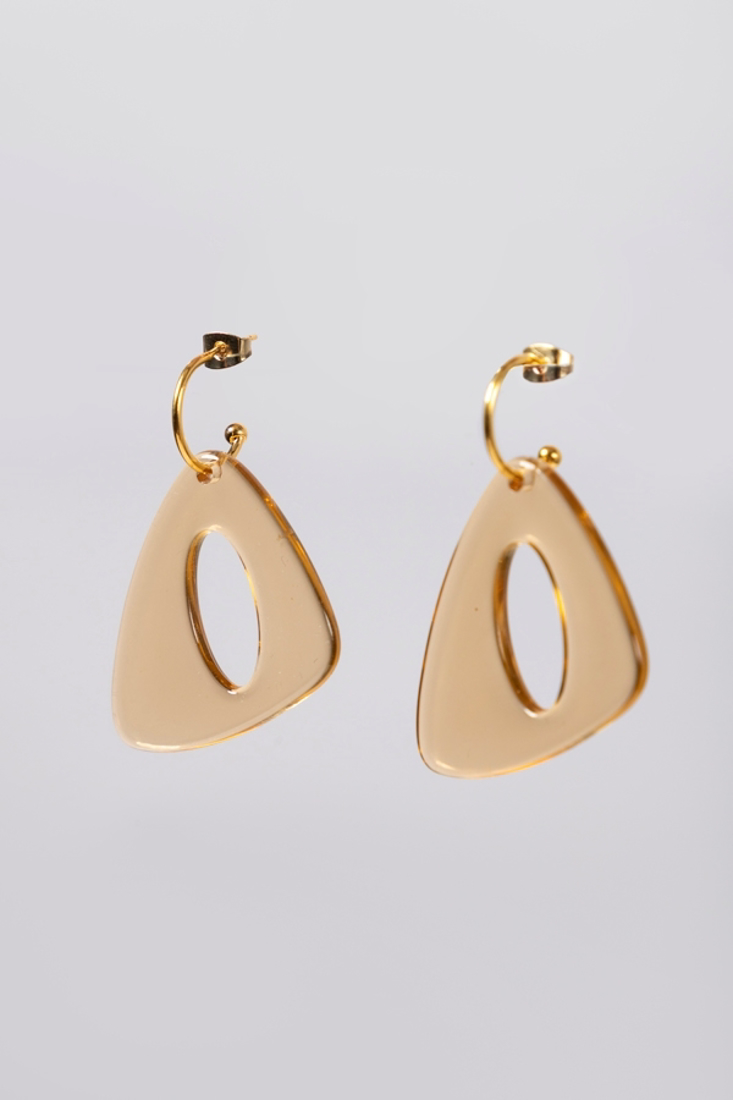 Picture of TRIANGLE TRANSPARENT EARRINGS