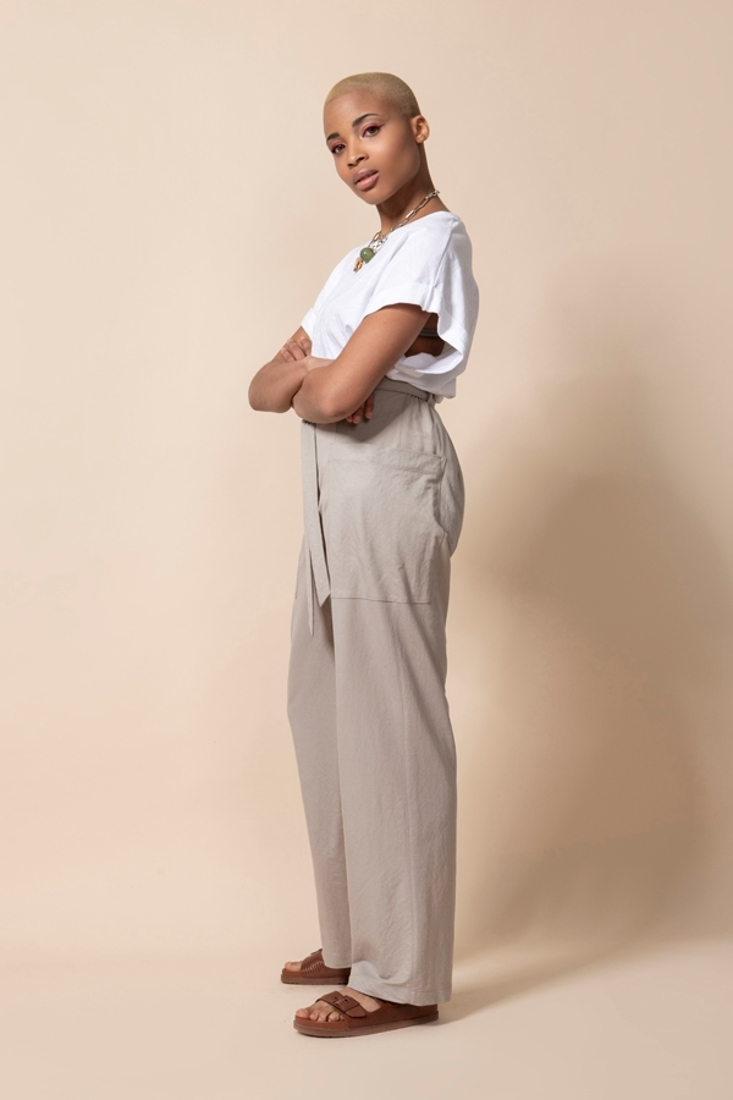 Picture of TROUSERS WITH SIDE POCKETS