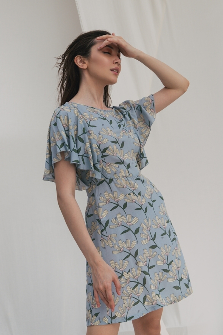 Picture of FLORAL PRINT MINI DRESS  (2)