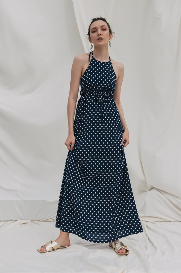 Picture of MAXI POLKA DOT DRESS