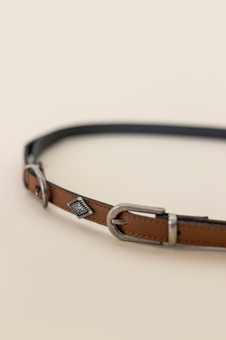 Picture of BELT WITH DOUBLE BUCKLE