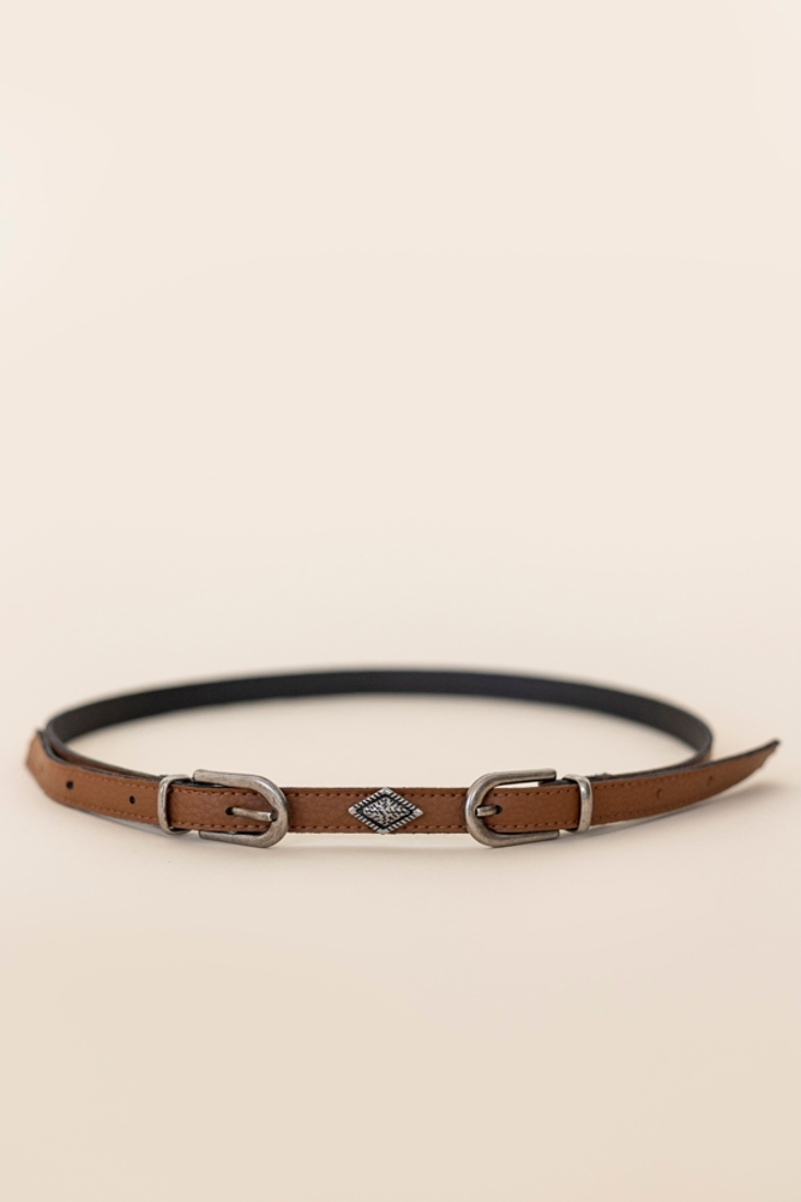 Picture of BELT WITH DOUBLE BUCKLE (2)