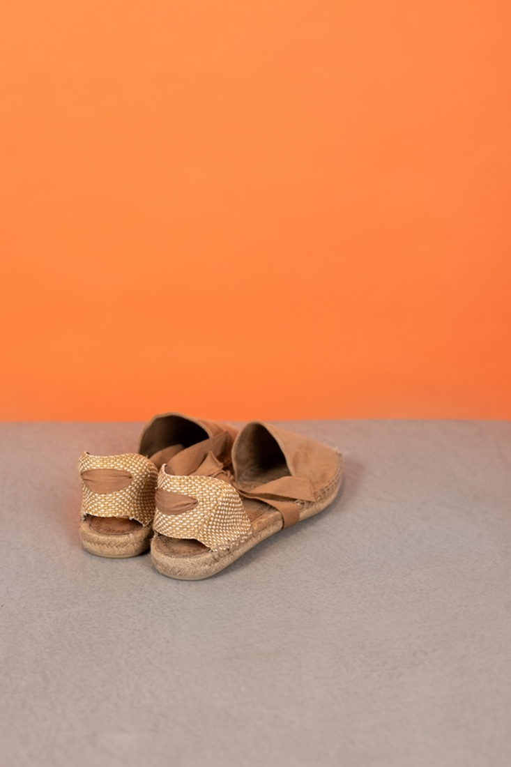 Picture of TIED FLAT ESPADRILLES