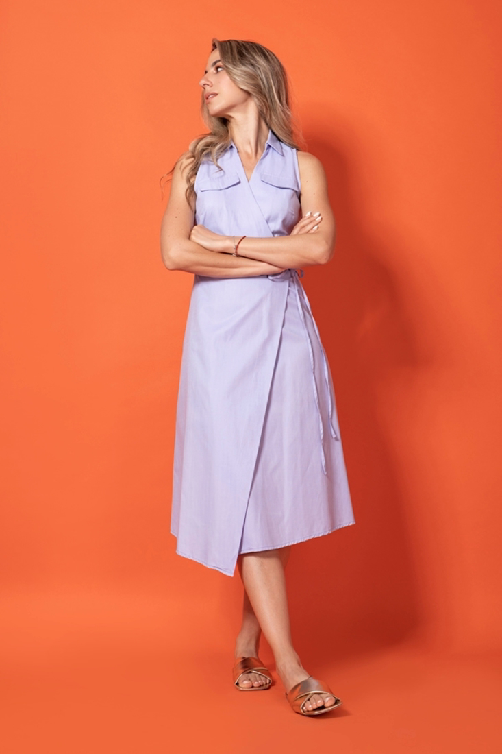 Picture of WRAP DRESS