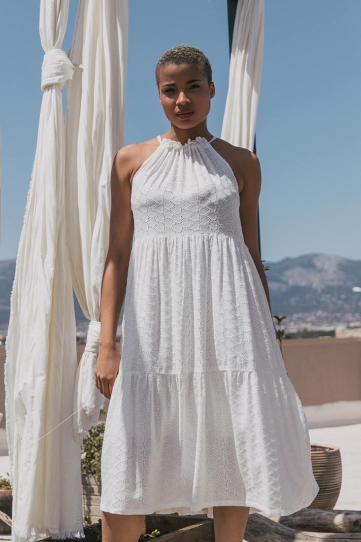 Picture of BRODERIE MIDI DRESS