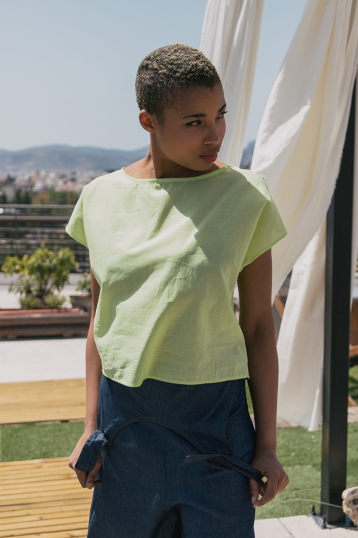 Picture of SQUARE NECKLINE T-SHIRT