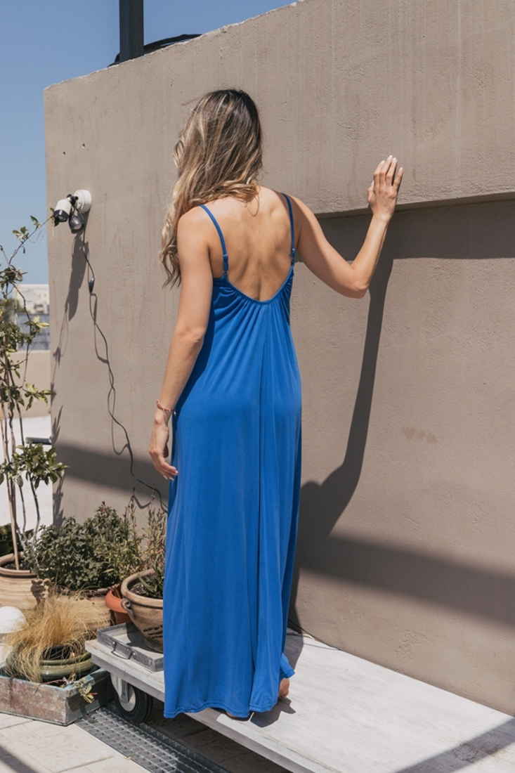 Picture of OPEN BACK LONG DRESS