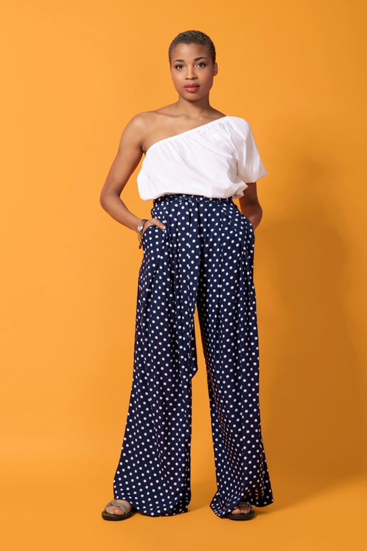 Picture of POLKA DOT TROUSERS