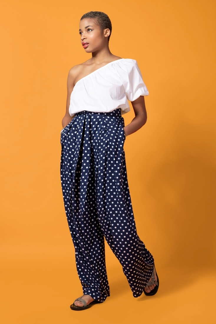 Picture of POLKA DOT TROUSERS (2)