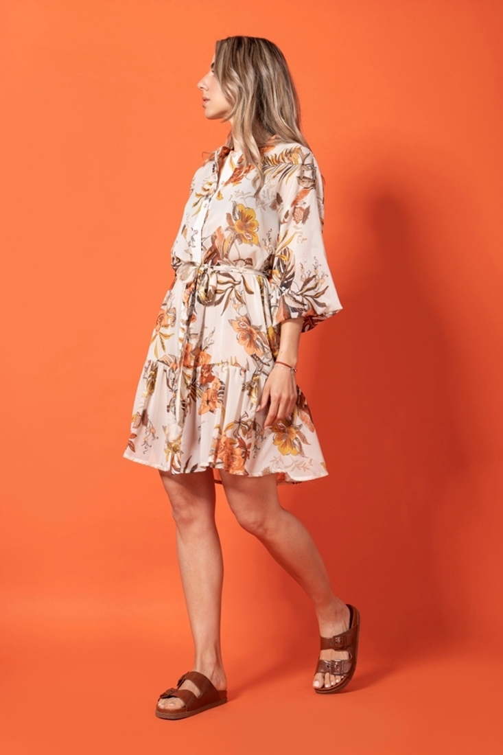 Picture of PRINTED TRANSPARENT DRESS