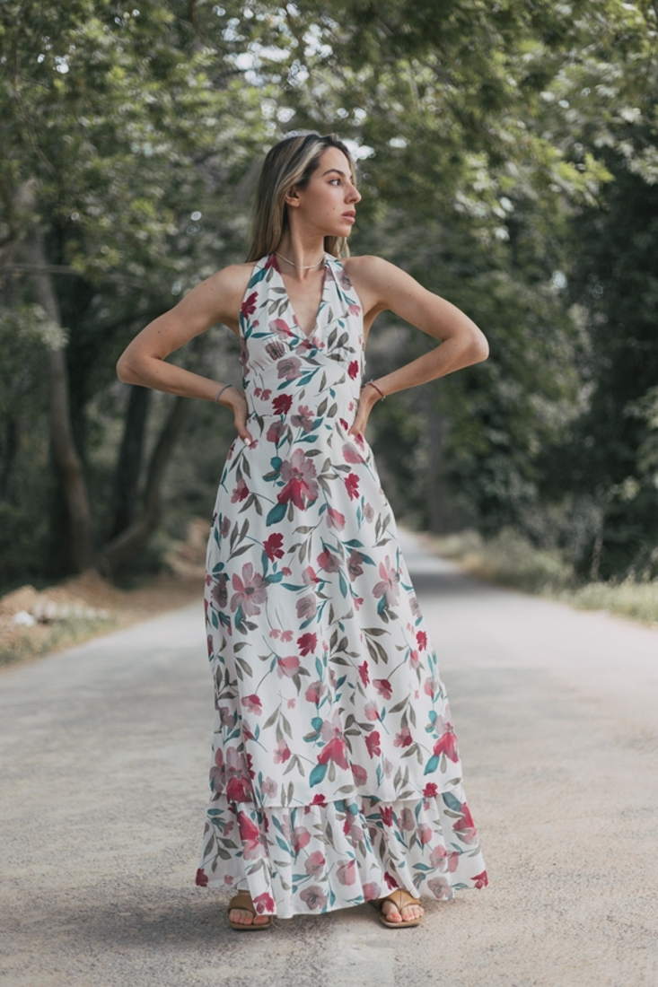 Picture of LONG OPEN BACK DRESS