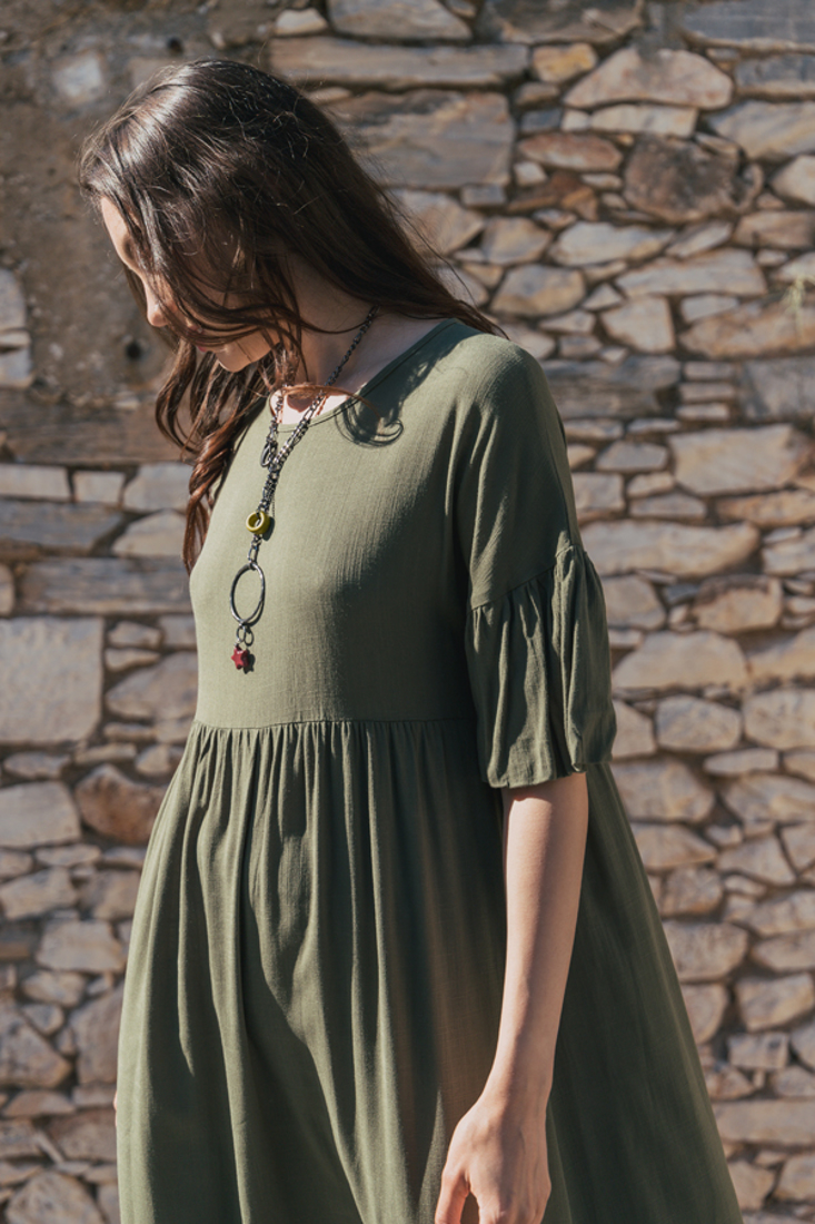 Picture of MIDI LOOSE DRESS (2)