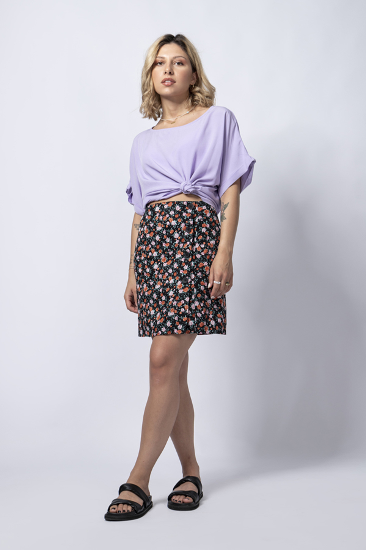 Picture of MINI PRINTED SKIRT (2)